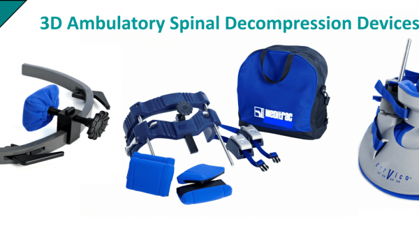 Meditrac Spinal Decompression Devices Vertetrac, Cervico 2000 & DBS Rail for neck, lower back pain relief and scoliosis