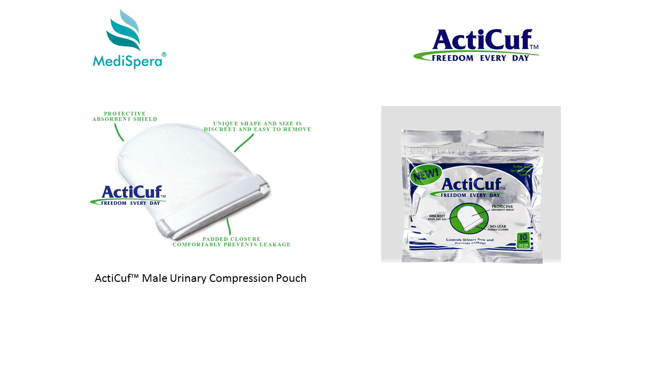 ActiCuf Male Stress or Urge Urinary Incontinence Pouch