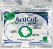 ActiCuf Pack of 10 ActiCuf Male Urinary Incontinence Clamp & Pouch for stress & urge incontinence