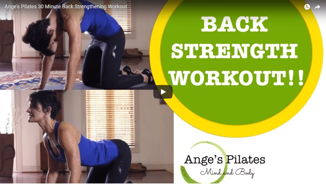 Exercises to strengthen your back so you can bend down safely and avoid lower back pain!